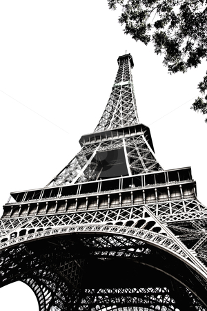 Eiffel Tower  stock photo, Eiffel Tower ,Paris, France  by Sasas Design