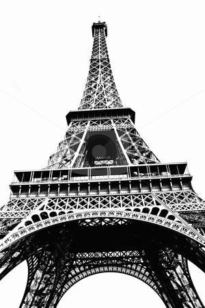 Eiffel Tower ,Paris, France stock photo, Eiffel Tower ,Paris, France by Sasas Design