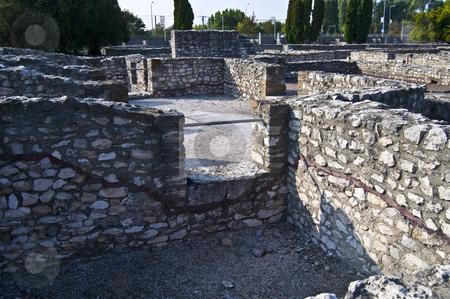 Aquincum stock photo, roman ruins in Budapest, called Aquincum in roman times by Juliane Jacobs