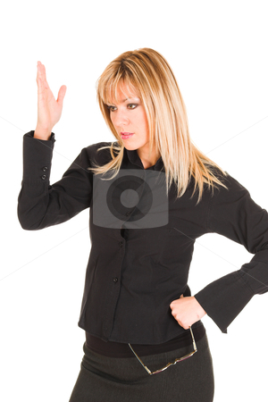 Businesswoman mad face stock photo, businesswoman mad face,  what's this ??? by vladacanon1