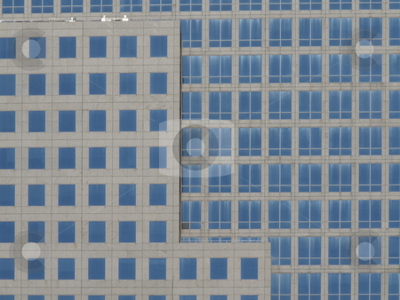 Office building stock photo, detail of a modern office building in Manhattan by Juliane Jacobs