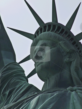 Statue of Liberty stock photo, view of the famous Statue of Liberty by Juliane Jacobs