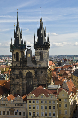 Old town square stock photo, part of the famous Old town square in Prague by Juliane Jacobs