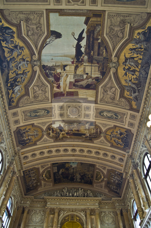 Burgtheater stock photo, detail of the beautiful interior of the Burgtheater in Vienna by Juliane Jacobs