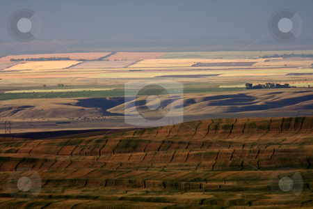 Scenic view of Big Muddy Valley stock photo, Scenic view of Big Muddy Valley by Mark Duffy
