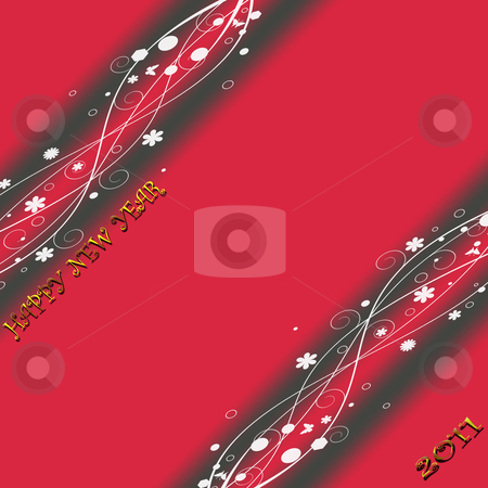Beautiful abstract background of new year  stock photo, Beautiful abstract background of new year  by Ingvar Bjork