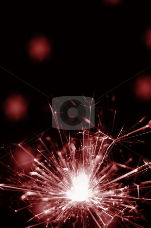 Holiday sparkler stock photo, abstract holiday sparkler background for xmas or new year by Gunnar Pippel
