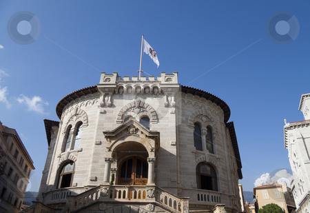 The Palace Of Justice in Monaco stock photo, The Palacio De Justicia in Monaco by Kevin Tietz
