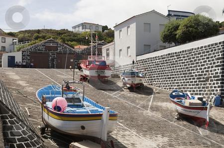 Fishing village stock photo, Fishing village of Calheta de Nesquim, Pico island, Azores by Manuel Ribeiro