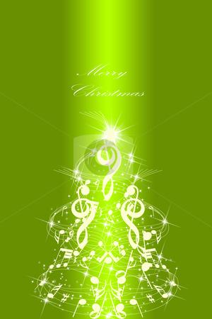 Abstract Christmas card stock photo, Beautiful abstract Christmas card  by Ingvar Bjork