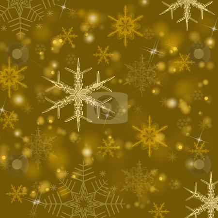 Gold shiny Christmas background  stock photo, Beautiful  gold shiny Christmas background  by Ingvar Bjork