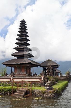 Ulun Danu temple stock photo, Ulun Danu temple Beratan Lake in Bali Indonesia by Alberto Rigamonti
