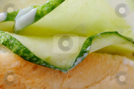 Close up of healthy vegetarian burger stock photo, Close up of healthy vegetarian burger. Suitable for concepts such as diet and nutrition, healthy eating and lifestyle, and food and beverage. by Wai Chung Tang