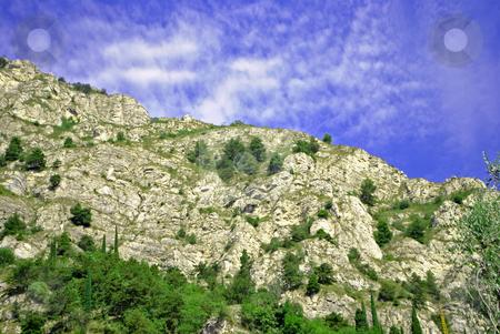 Mountain blue sky stock photo, mountain blue sky by freeteo