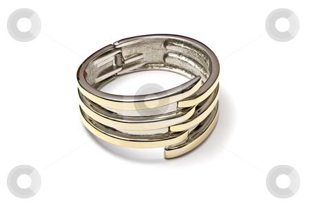 Bracelet  stock photo, Fashion bracelet isolated on white background   by Ingvar Bjork