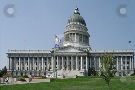Salt Lake City capitol stock photo, Salt Lake City capitol, U.S.A. by Albo