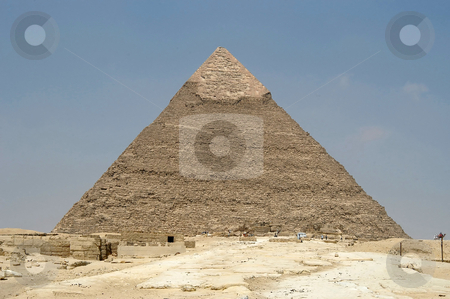 Chefren pyramid stock photo, Chefren pyramid, Cairo, Egypt, Africa           by Albo