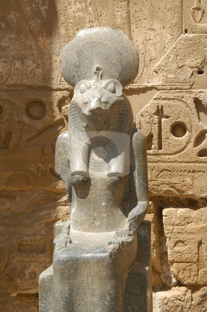 Egyptian statue stock photo, Egyptian statue, Egypt      by Albo