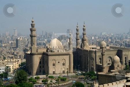 Cairo's Citadelle stock photo, View of Cairo's Citadelle, Cairo, Egypt by Albo