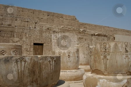 Egyptian temple stock photo, Egyptian temple, Egypt Africa by Albo