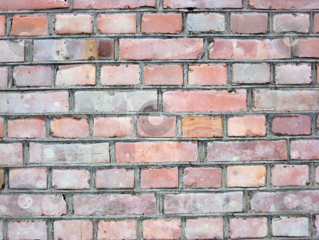 Texture of old bricks wall background  stock photo, Texture of old bricks wall background   by Ingvar Bjork