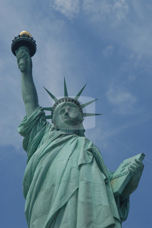 Statue of Liberty stock photo, Statue of Liberty National Monument, New York City by Albo
