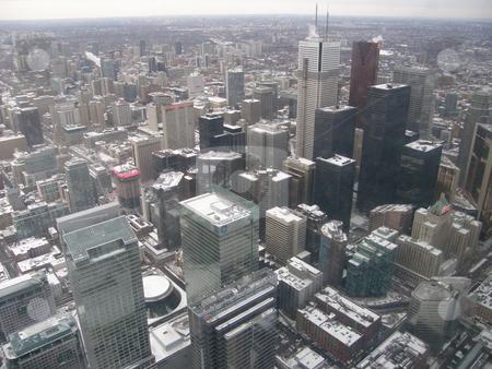 Aerial View of Toronto stock photo, Aerial View of Toronto, Canada by Ritu Jethani