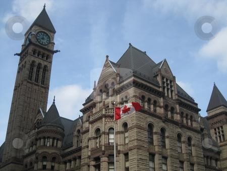 Toronto City Hall stock photo, Toronto City Hall in Canada by Ritu Jethani