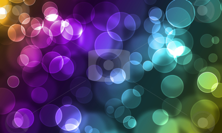 Abstract glowing circles stock photo, abstract glowing circles on a colorful background by sutike