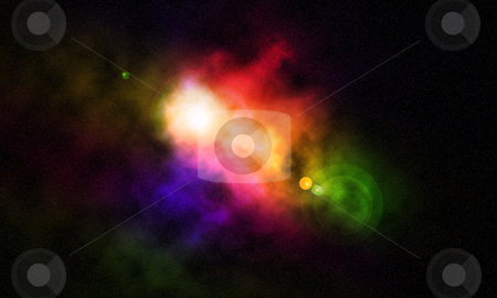 Cosmic Space stock photo, Cosmic Space with stars by sutike