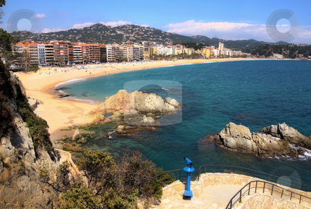 Lloret de Mar (Spain) stock photo, View of Lloret de Mar (Spain) by vladacanon1