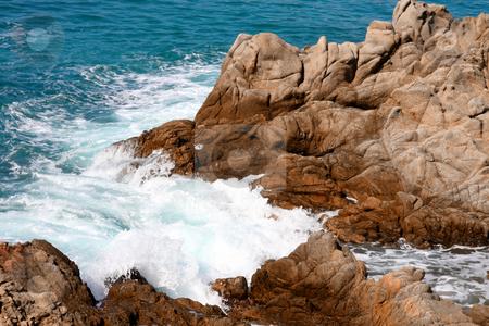 Costa Brava landscape near Lloret de Mar (Spain) stock photo, sea shore, Costa Brava landscape near Lloret de Mar (Spain) by vladacanon1