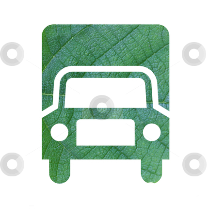 Eco green energy car  stock photo, Eco green energy car by rufous