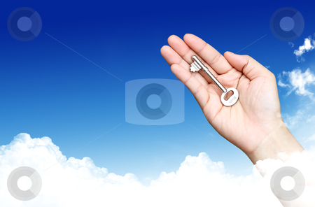 The Key to Success  stock photo, The Key to Success by rufous