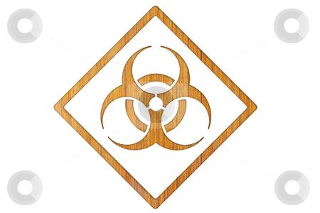 Bio-hazard symbol  stock photo, Bio-hazard symbol by rufous