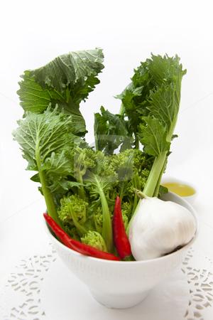 Fresh vegetables stock photo, Fresh turnip plant on white background by Sabino Parente