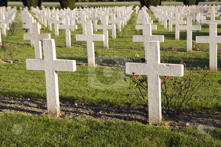 Verdun memorial cemetery stock photo, Memorial cemetery for the first world war by Sabino Parente