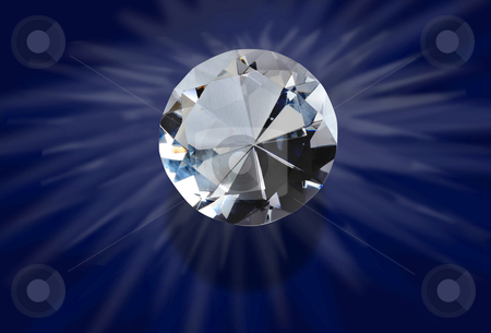 Diamond stock photo, Dimond glowing. by WScott