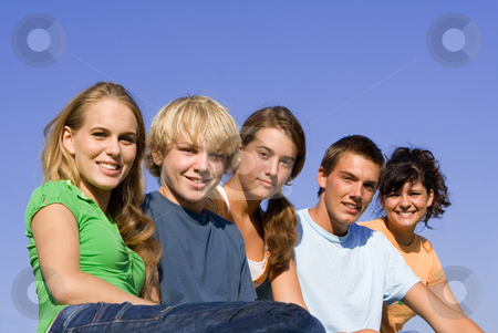 Group of happy smiling, youth stock photo, group of happy smiling, youth by mandygodbehear
