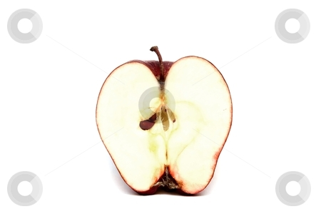 Half an Apple stock photo, an apple sliced in half by Karma Shuford