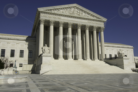 Supreme Court stock photo, United States Supreme Court in Washington DC by dcslim