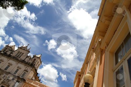 Salvador de Bahia stock photo, Historic buildings in Salvador de Bahia. by Michael Osterrieder
