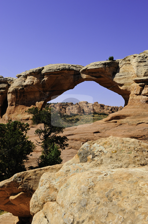 Arches National Park stock photo, Tapestry Arch in Arches National Park, Utah by Don Fink