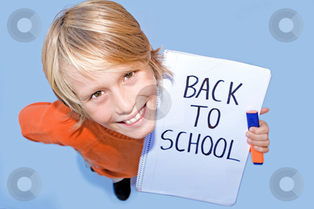 Back to school, happy student stock photo, back to school, happy student by mandygodbehear
