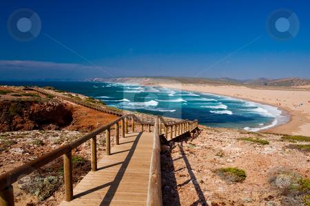 Beautiful beach stock photo, landscape picture of a beautiful european beach by ikostudio