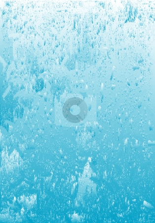 Icy water grunge background stock photo, Beautiful abstract icy water grunge blue background. by Edvard Molnar