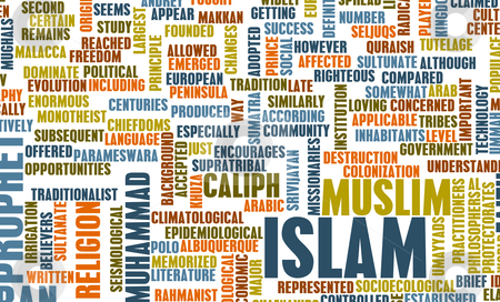 Islam stock photo, Islam or Muslim Religion as a Concept by Kheng Ho Toh