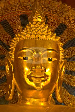 Wat Phra Singh stock photo, detail of the temple Wat Phra Singh in Chiang Mai by Juliane Jacobs