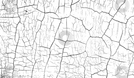 Black and white bump alpha map for cracked paint                 stock photo, black and white bump alpha map for cracked paint                                by johnjohnson