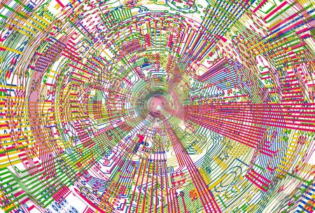 Illustrating background of electronic components stock photo, Illustrating a light background of electronic components by Alexey Romanov